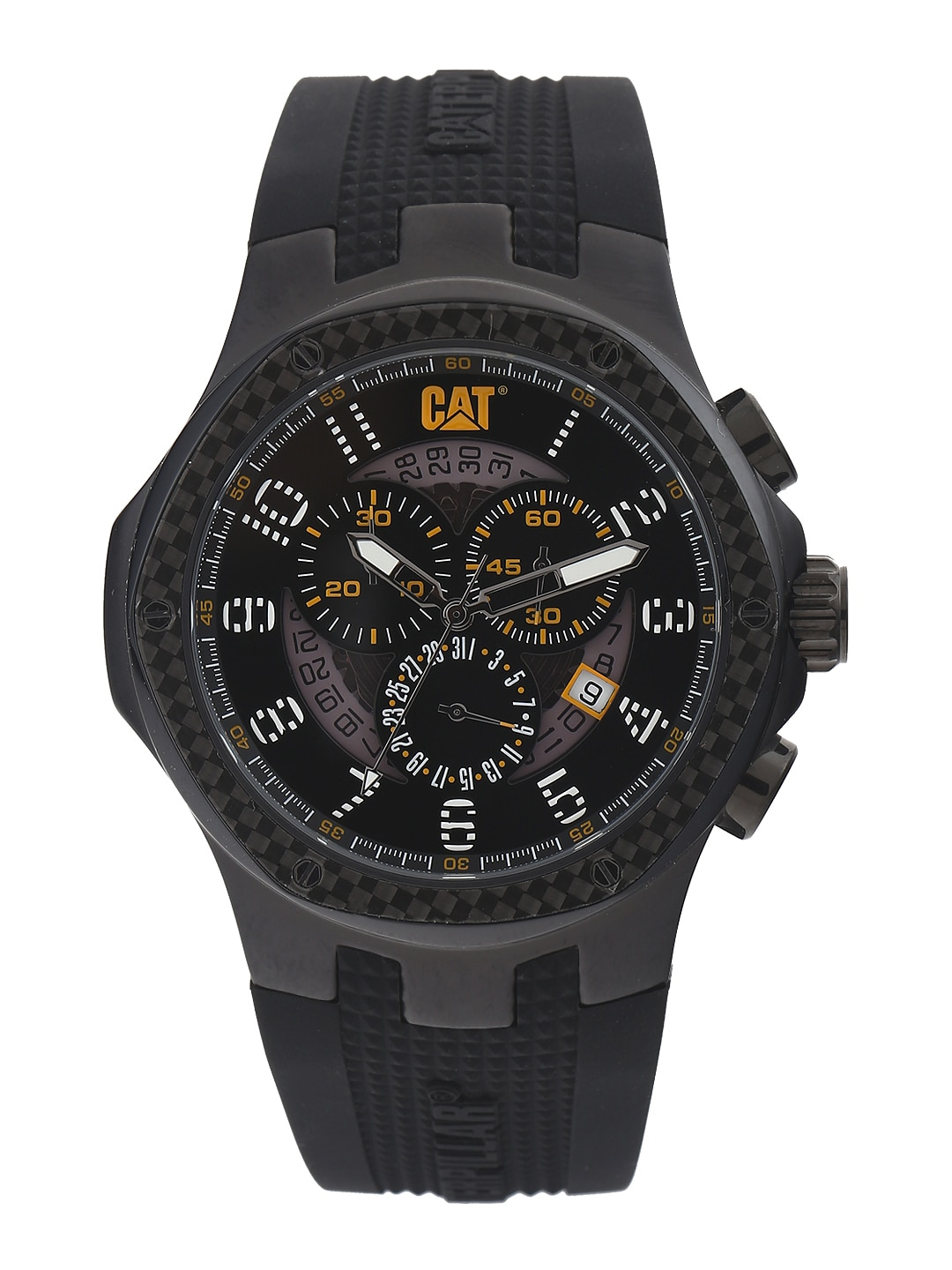 Cat CAT Men Black Dial Chronograph Watch A5.163.21.111