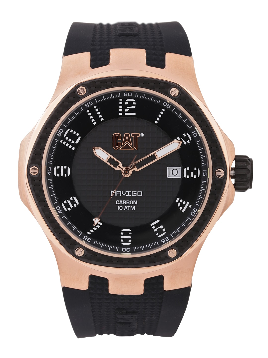 Cat CAT Men Black Dial Watch A5.191.21.119