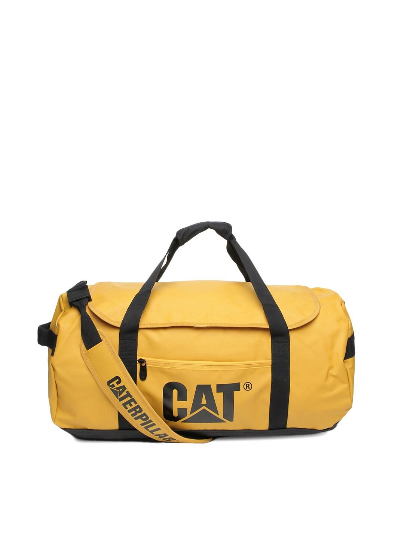 Cat Unisex Yellow Yosemite Duffle Bag