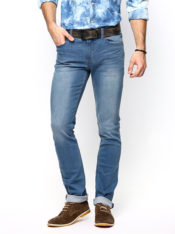 Calvin Klein Jeans Men Blue Skinny Fit Jeans