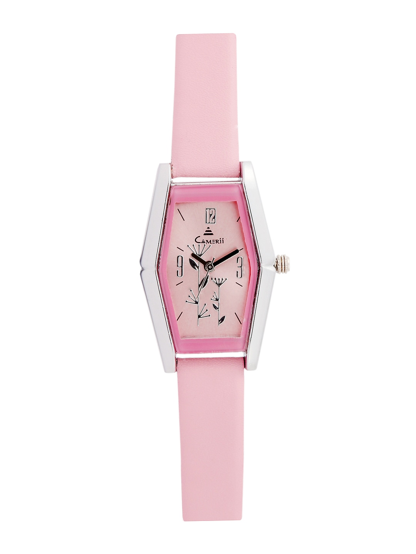 Camerii Women Pink Dial Watch CWL507P