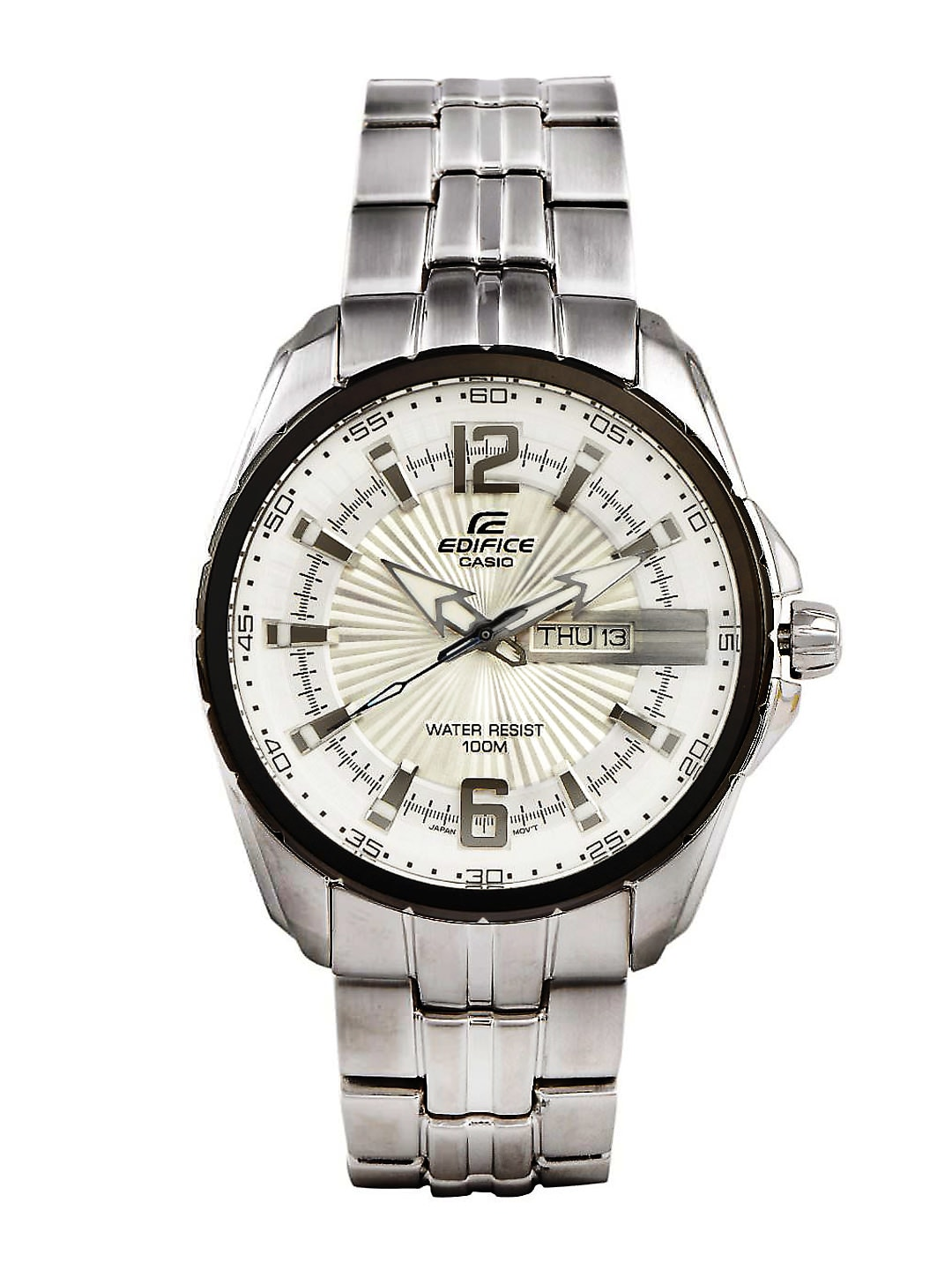 Casio Edifice Men Silver Analogue Watches (ED446) EF-131D-7AVDF