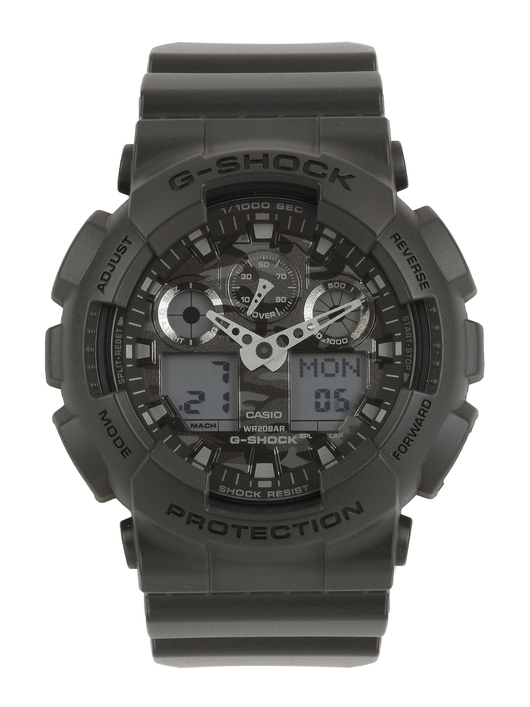 CASIO G-Shock Men Black Analogue & Digital Watch G521