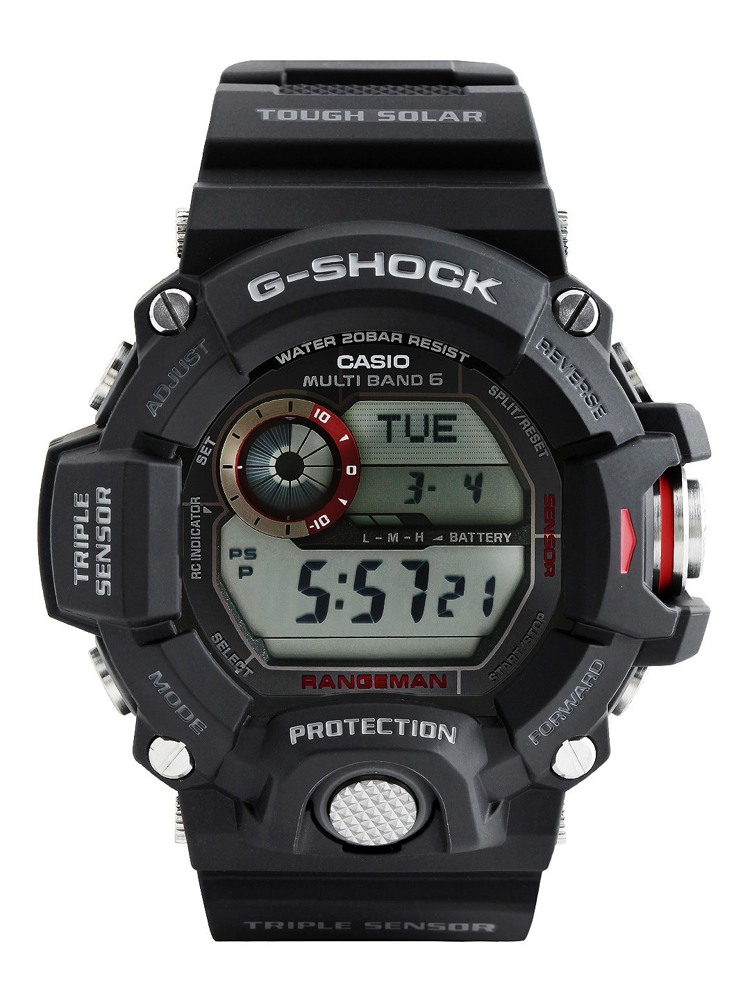 Casio G-Shock Men Black Digital Watch G485-Black-251128