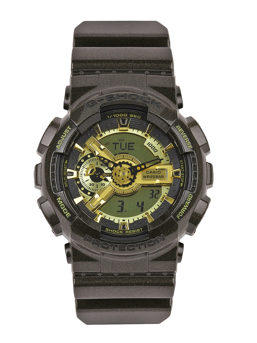CASIO G-Shock Men Black Analogue & Digital Watch G459