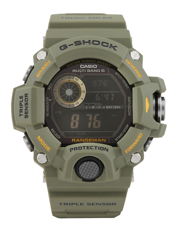 Casio G-Shock Men Green Digital Watch G486-BLACK-251129