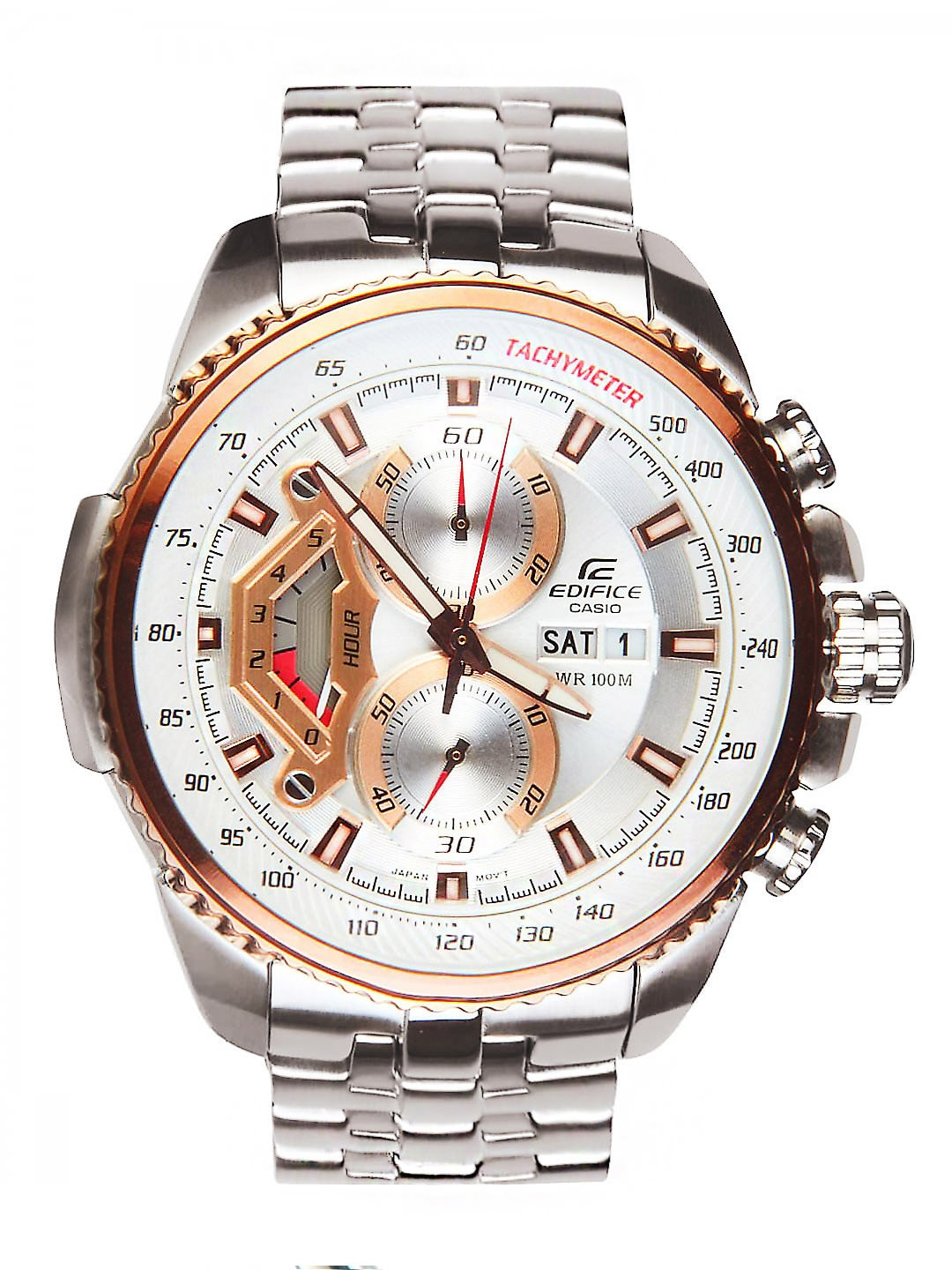 Casio Men Edifice Steel Watch ED438