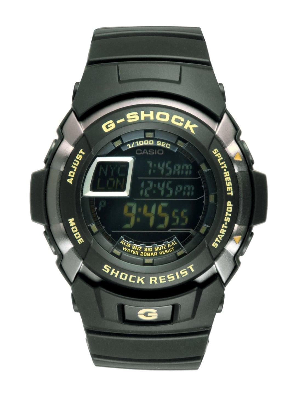 Casio Men G-shock Black Digital Watch G223