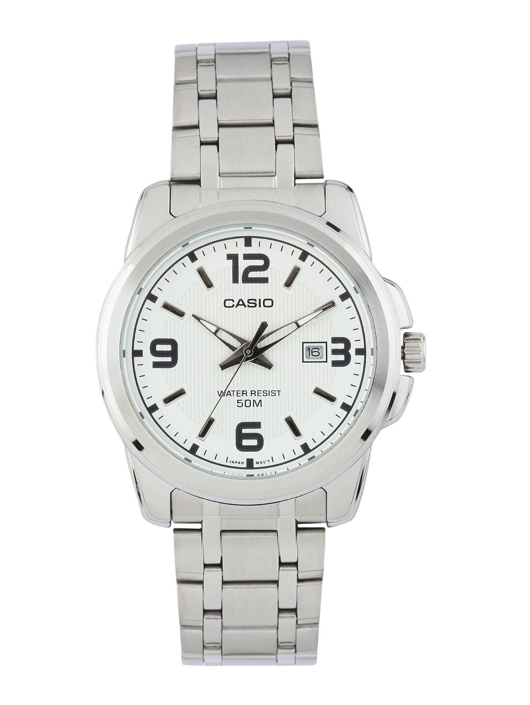 CASIO Men White Dial Watch A552