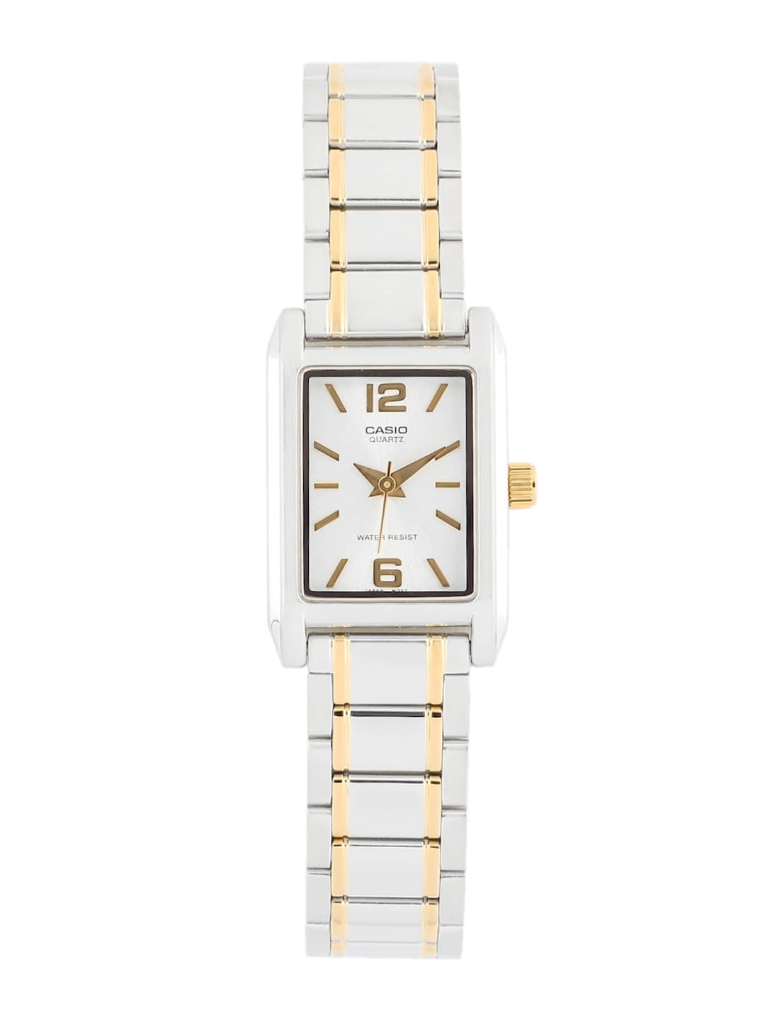 CASIO Women Silver-Toned Dial Watch A360
