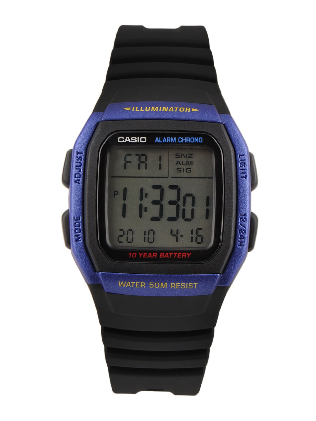 Casio Youth Men Black Digital Watch D055