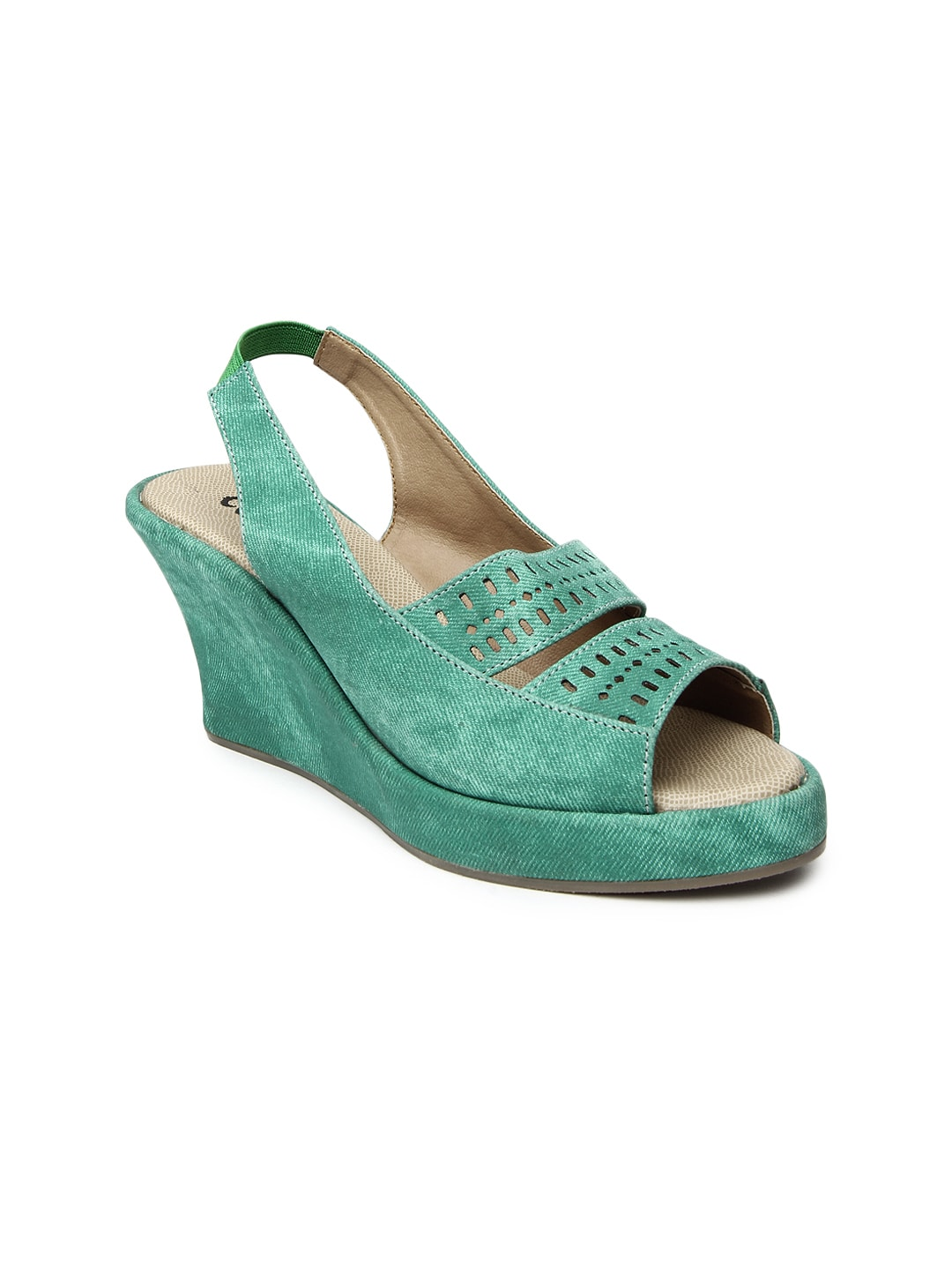 Cocoon Women Green Wedges