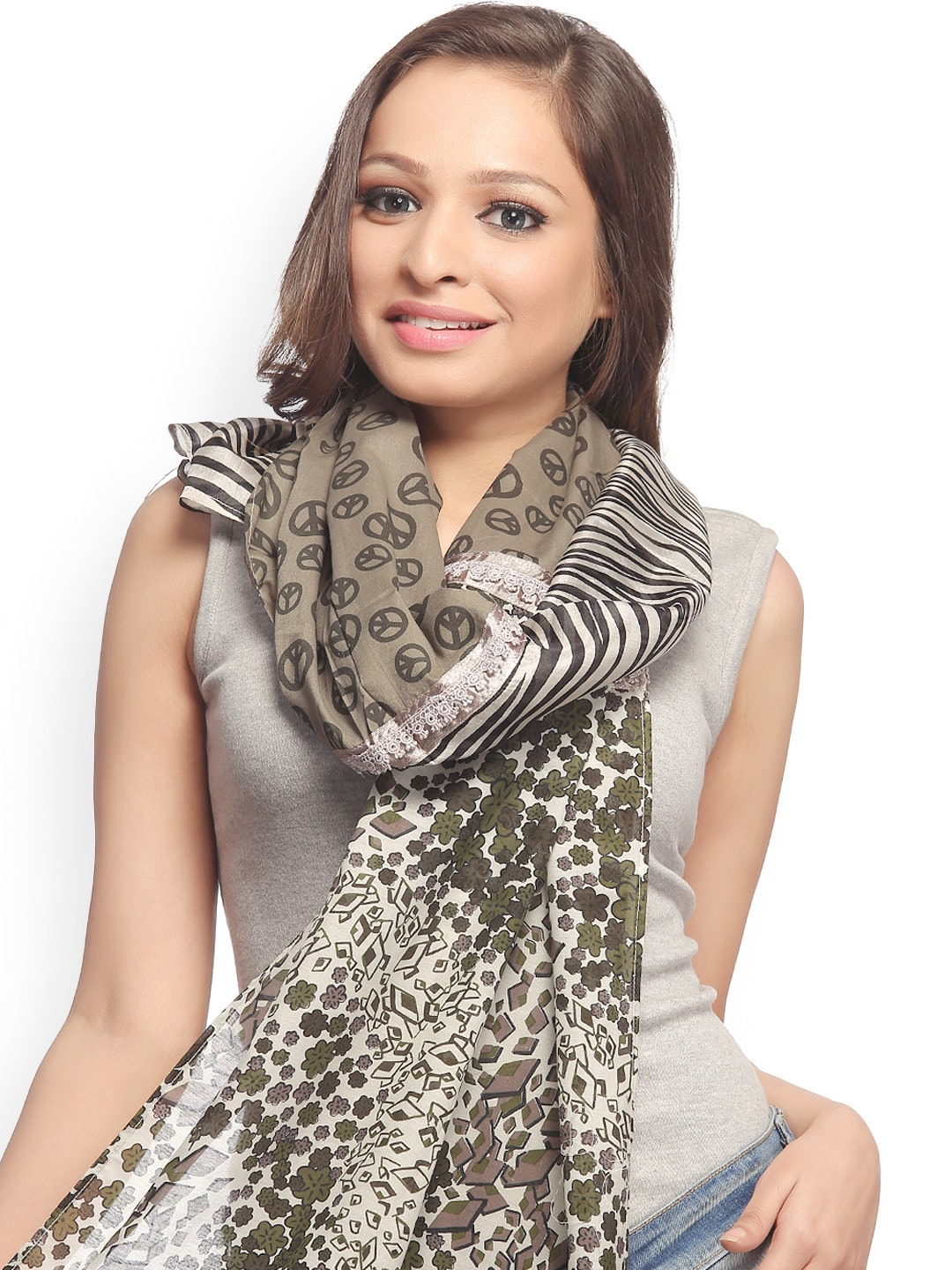 CoolThreads Women Multicoloured Printed Scarf