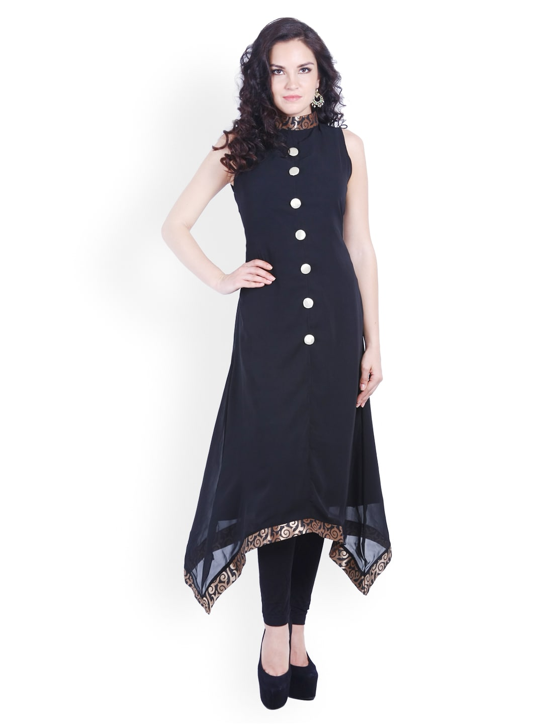 DS Women Black Kurta