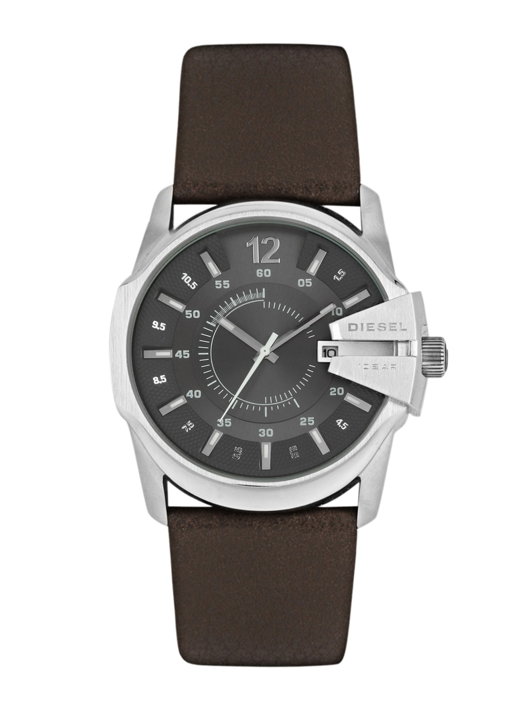 DIESEL Men Gunmetal-Toned Dial Watch DZ1206I