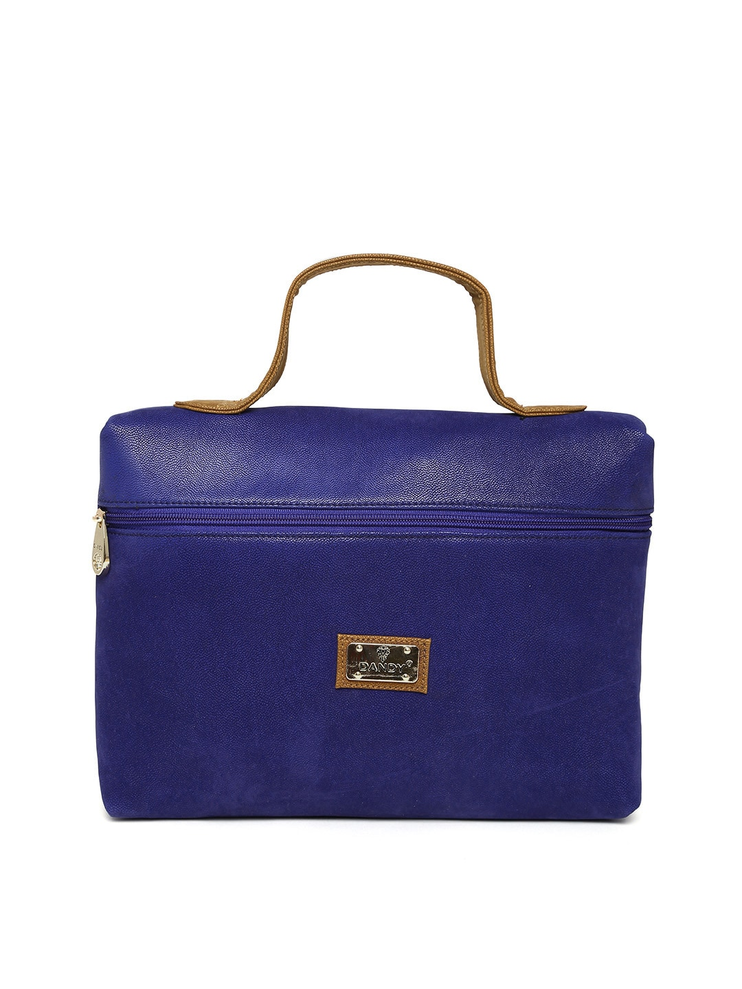 D And Y Dandy Dark Blue Handbag (Multicolor)