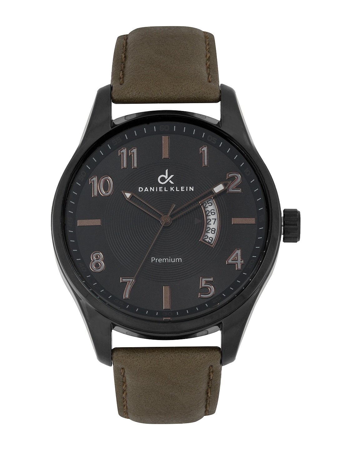 Good Watch Brands For Men >> Buy Daniel Klein Men Black Dial Watch DK10187 8 - 361 ...