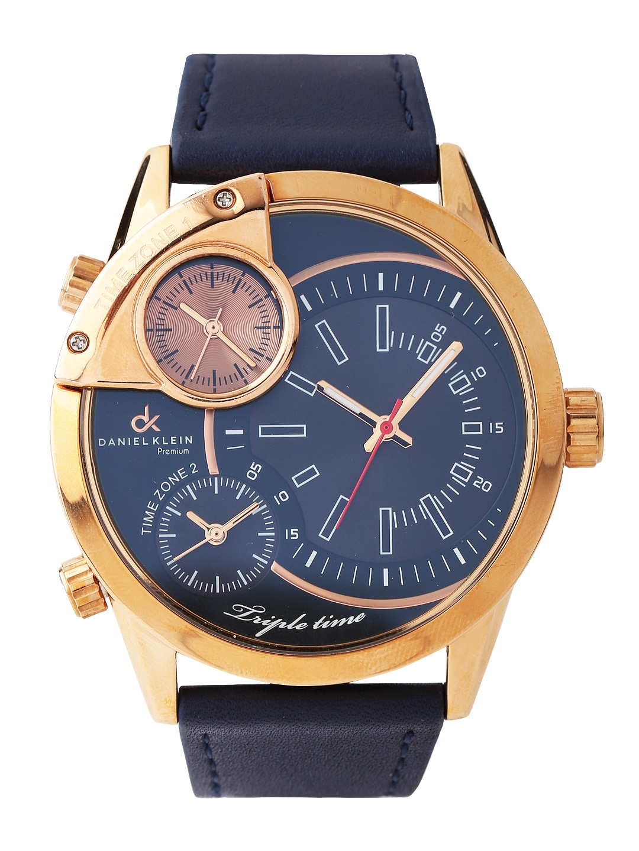 Buy Daniel Klein Men Navy Three Dial Watch Dk10310 8 361