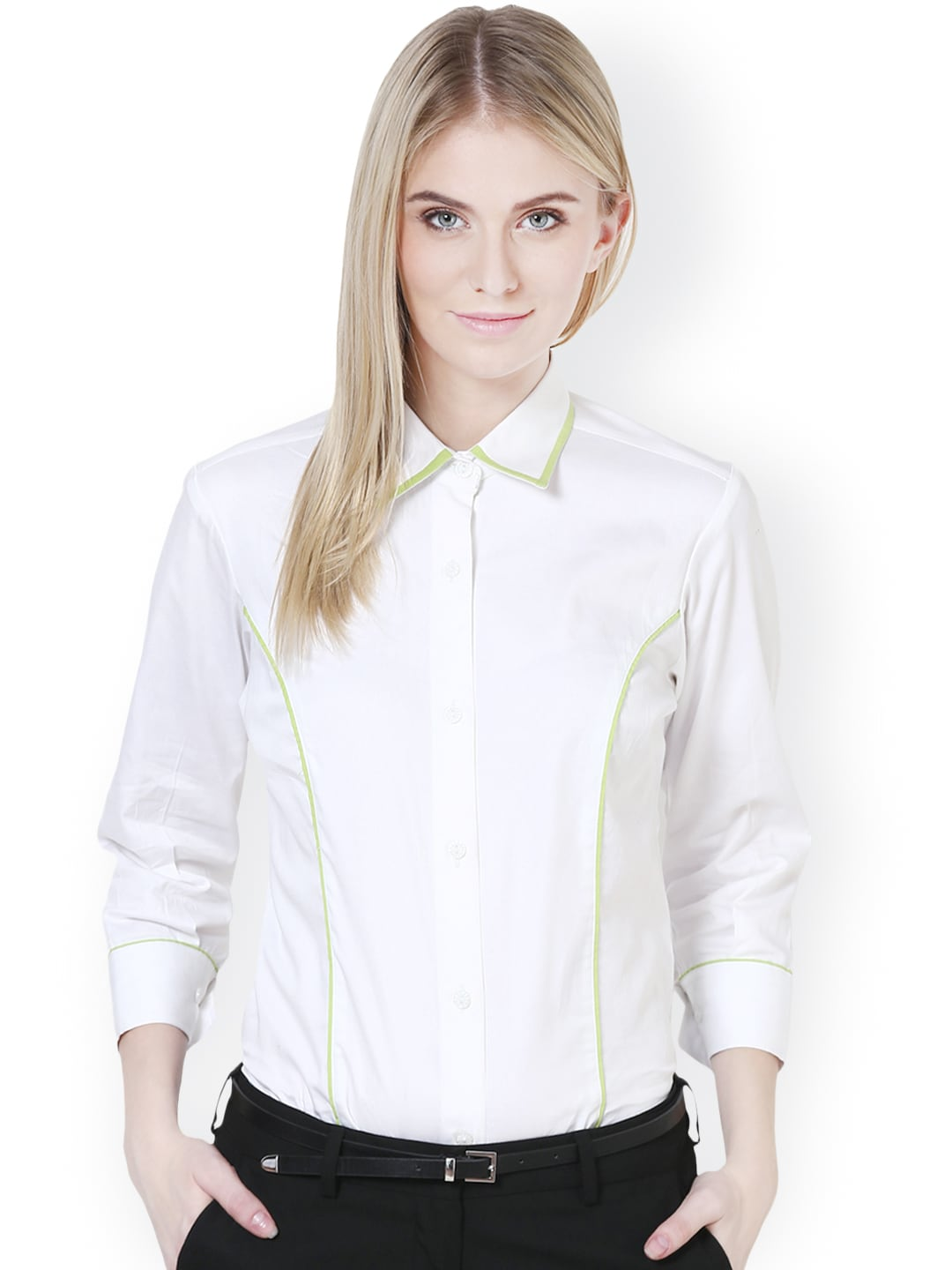 f0a797f72496 Formal White Shirts For Women - Buy Formal White Shirts For Women online in  India