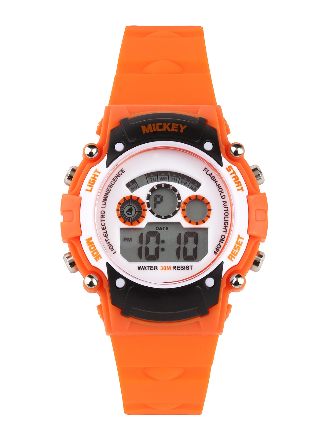 buy disney boys orange digital 361 accessories