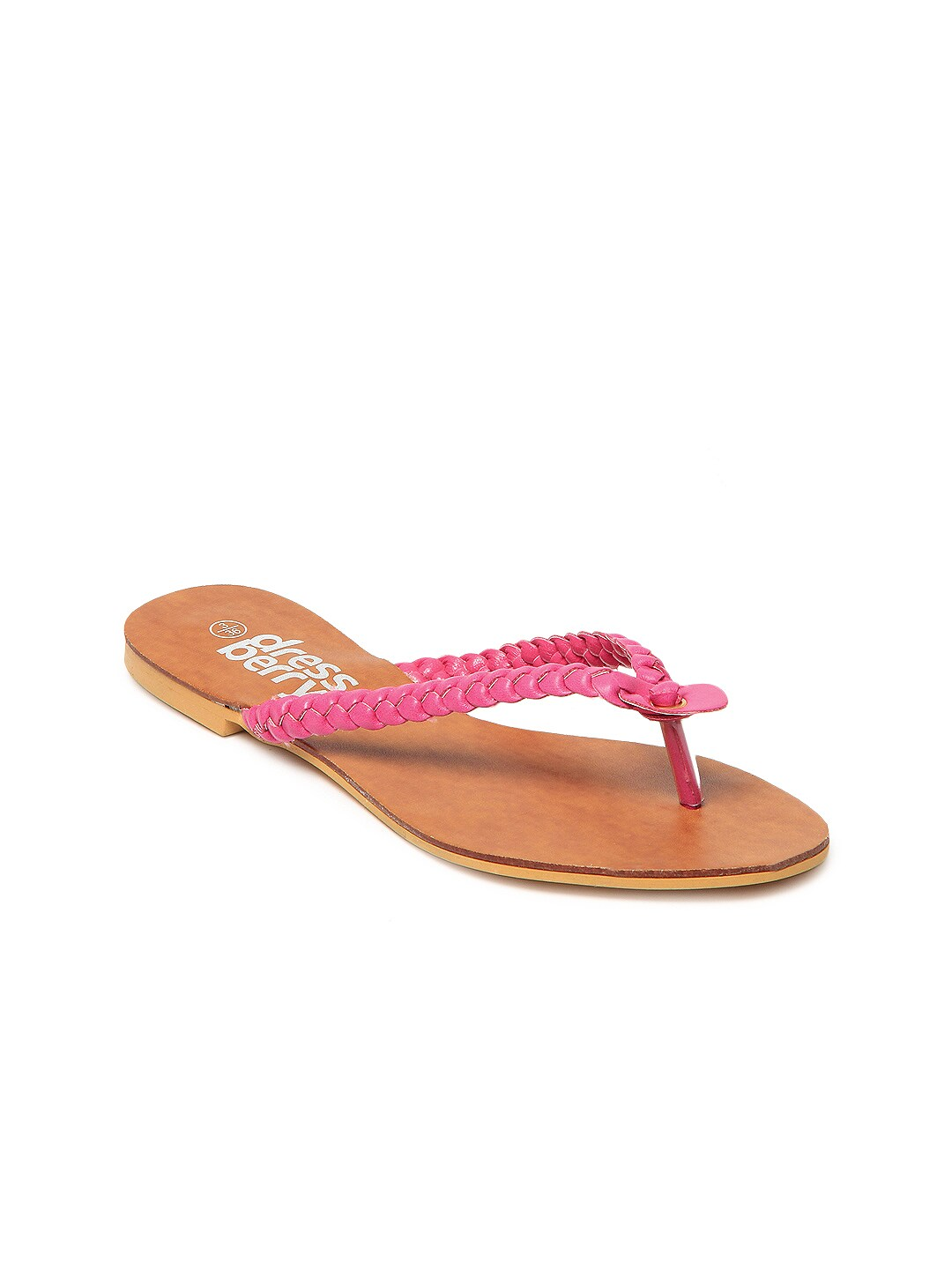 DressBerry Women Pink Sandals