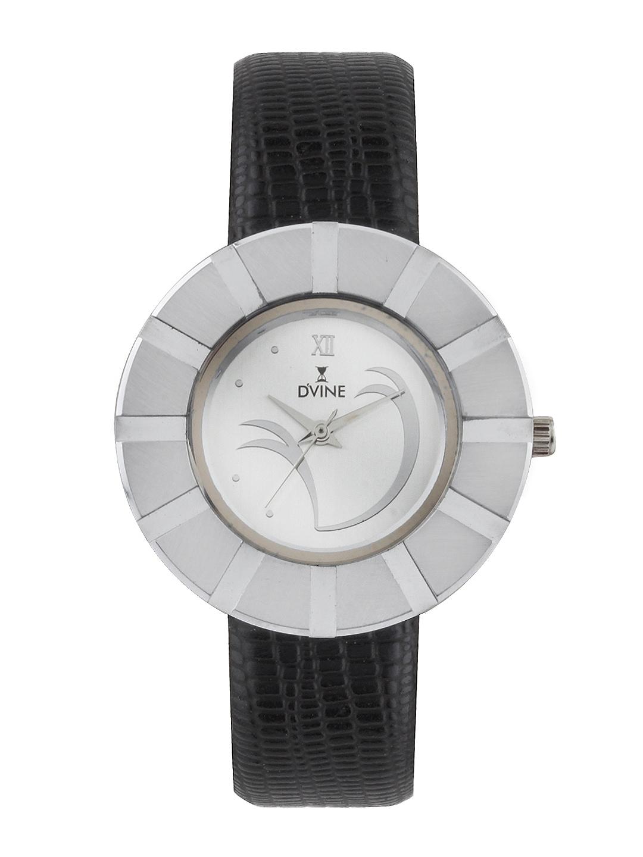 Dvine Women Silver Toned Dial Watch