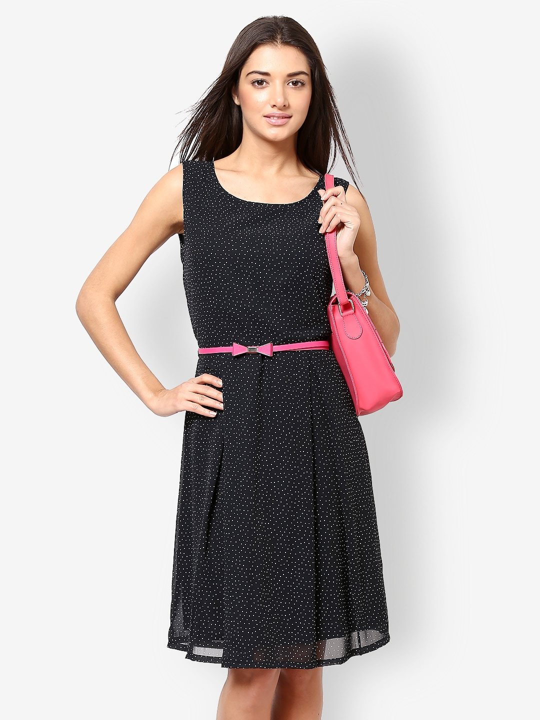 Brilliant Buy Athena Purple Amp Black Maxi Dress  Dresses For Women  Myntra