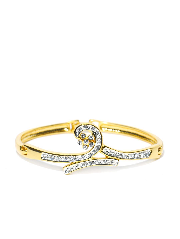 Estelle Estelle Gold Plated Clamp Bracelet (Yellow)