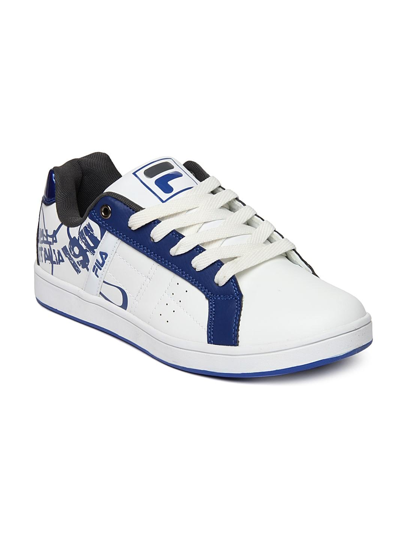 Fila Men White Flow II Casual Shoes