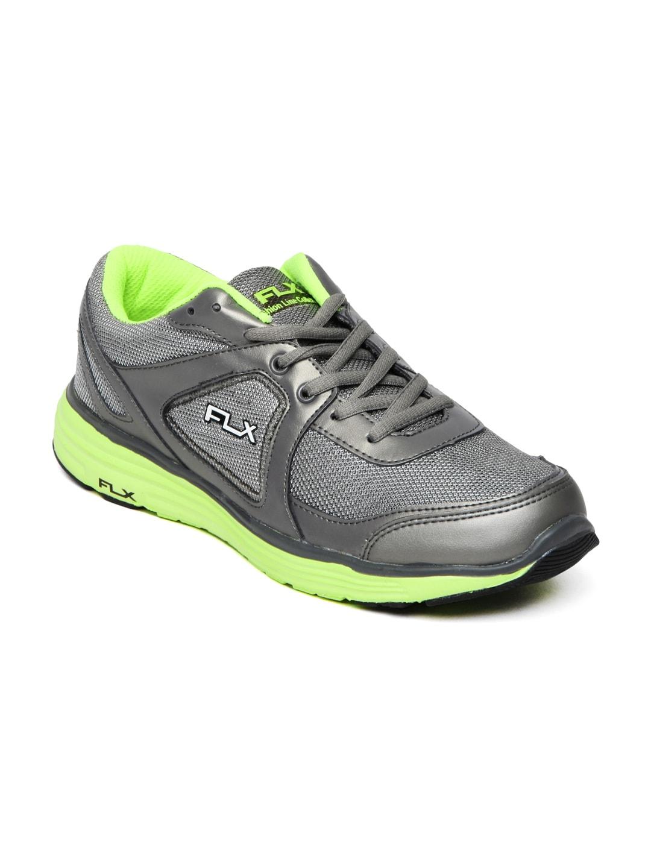 FLX Men Grey Mercurial Sports Shoes
