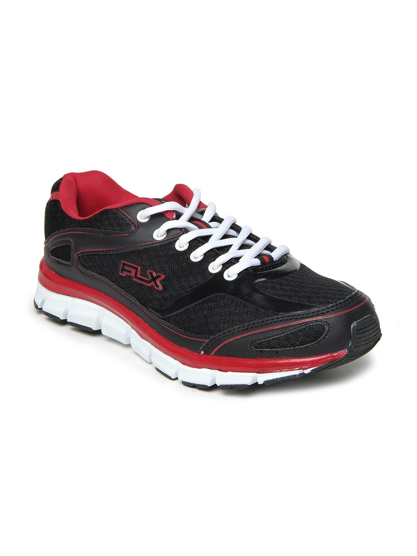 FLX Men Black Dexter Sports Shoes