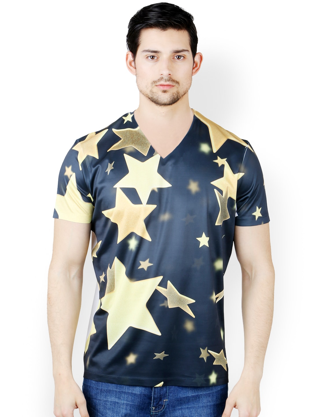 Buy freecultr express men multicoloured printed t shirt for T shirt print express