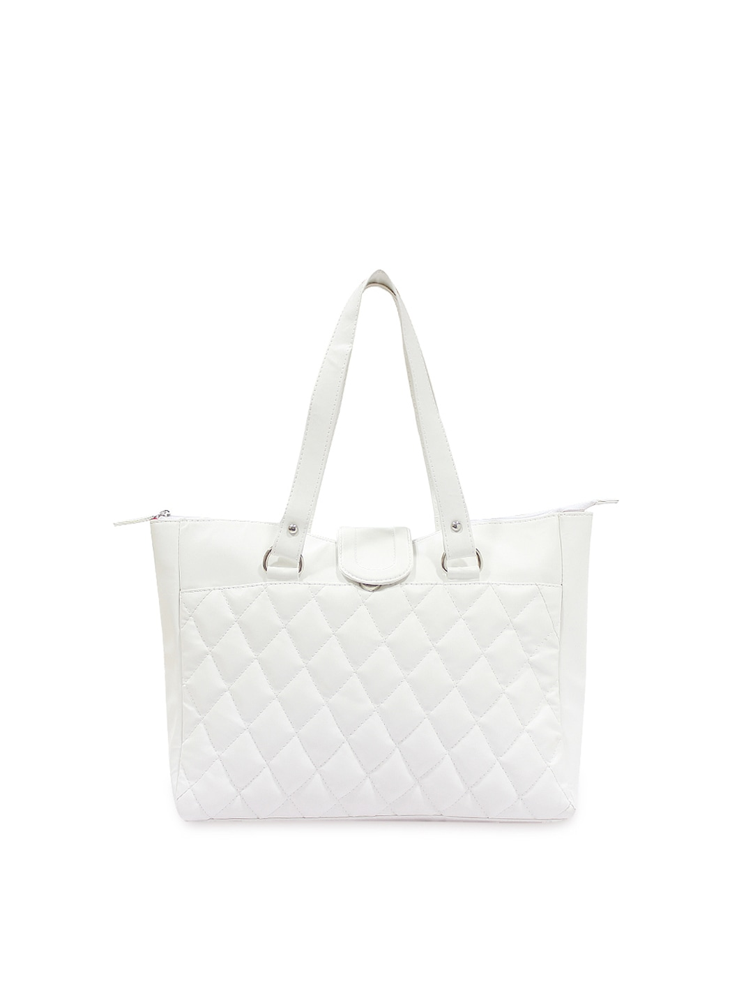 Style Tribe Womens White Tote Bag at Sears.com