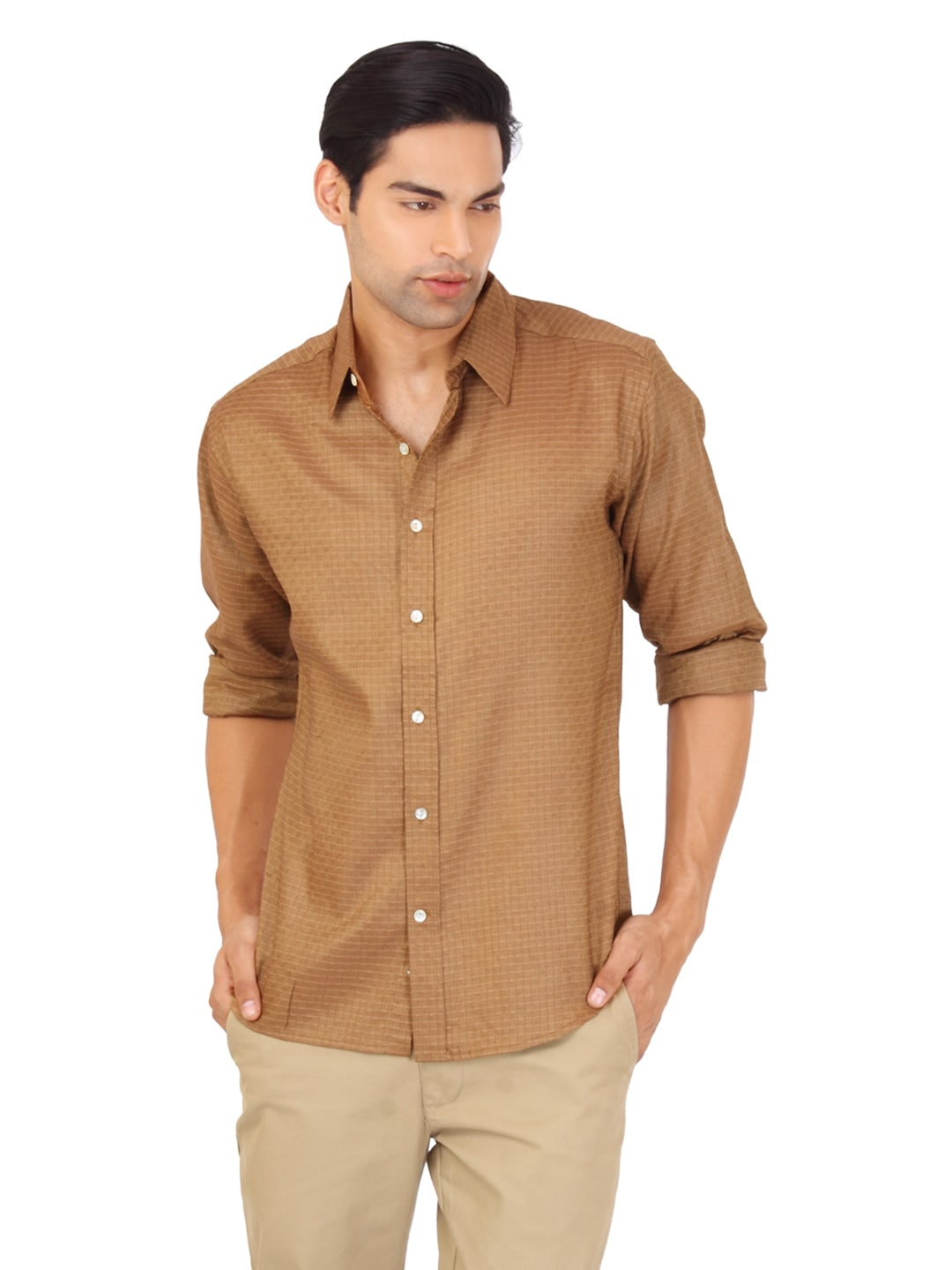 Brown shirt t shirt design database for Black brown mens shirts