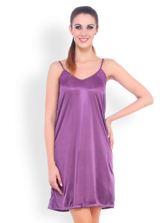 Fasense Purple Nightdress