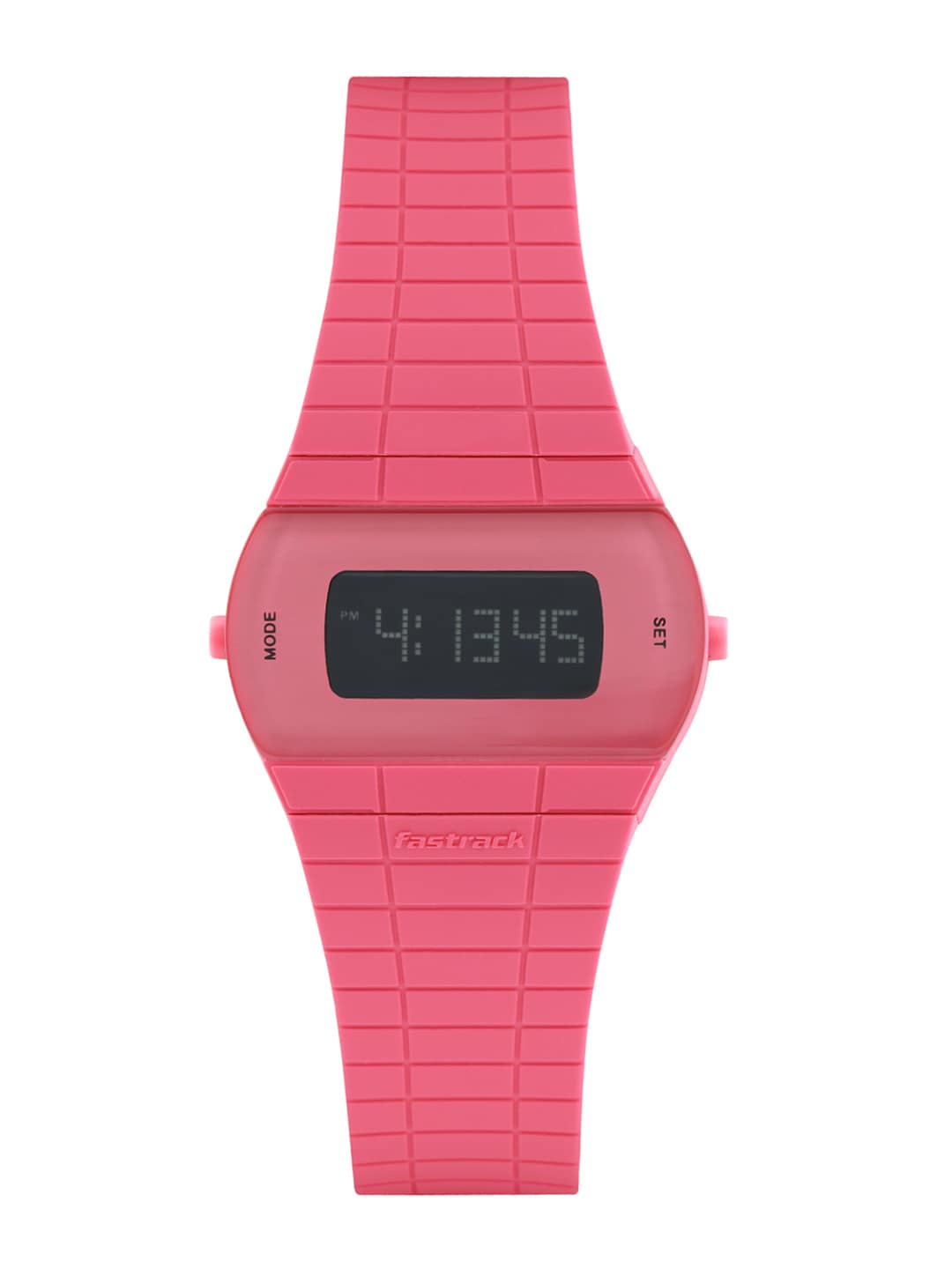 Fastrack Digitals Women Pink LCD Digital Watch 68001PP02J