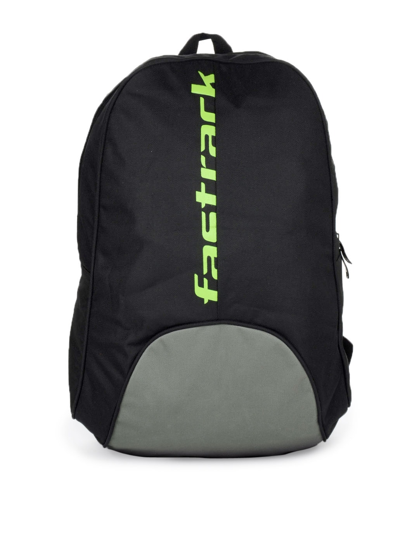 Buy Fastrack Men Black & Grey Backpack - 294 - Accessories ...
