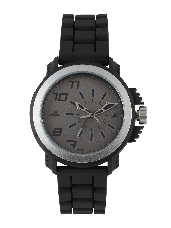 Fastrack Men Grey Dial Watch 38015PP01