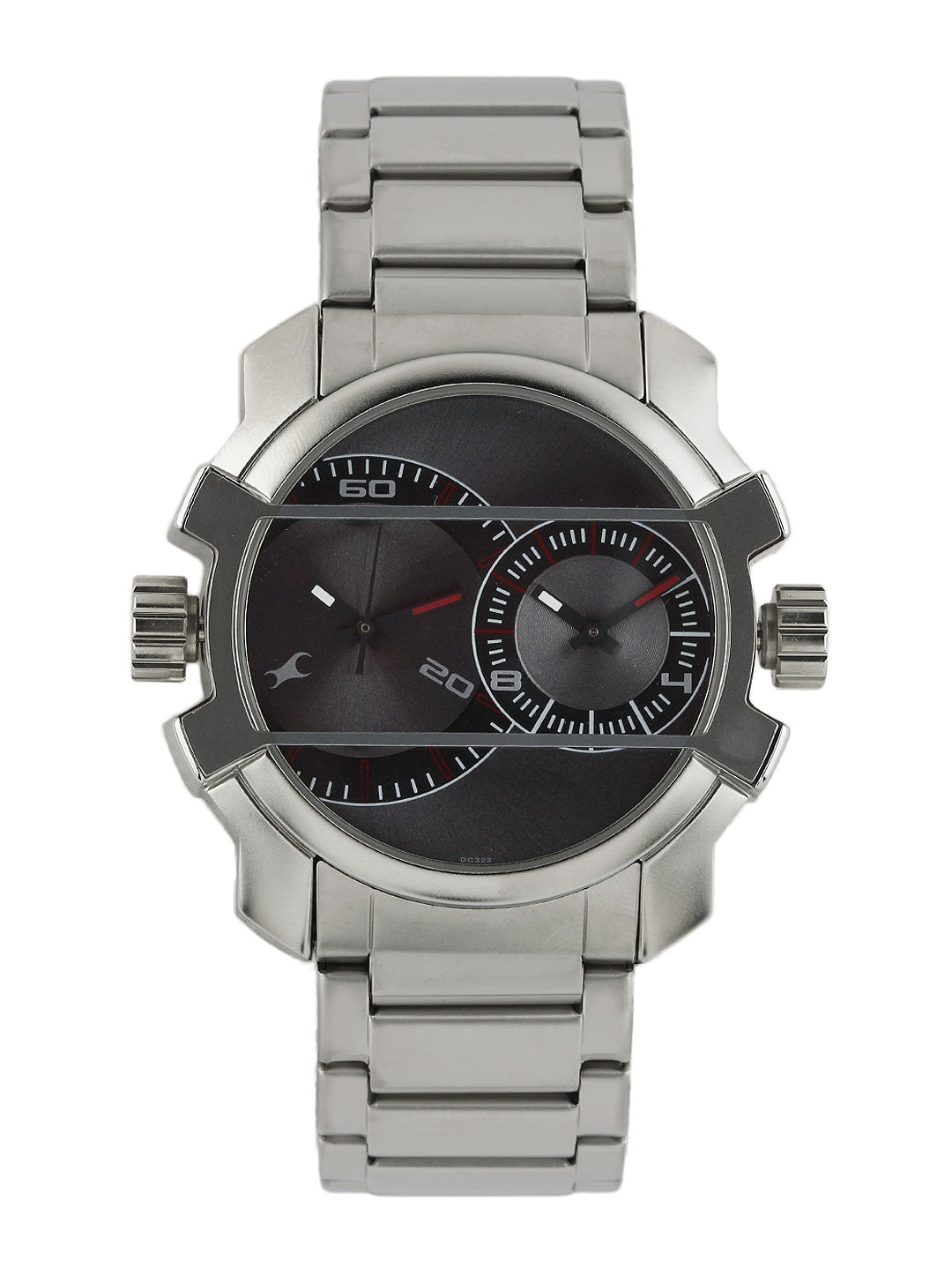 Fastrack Men Grey Dial Watch 3098SM01