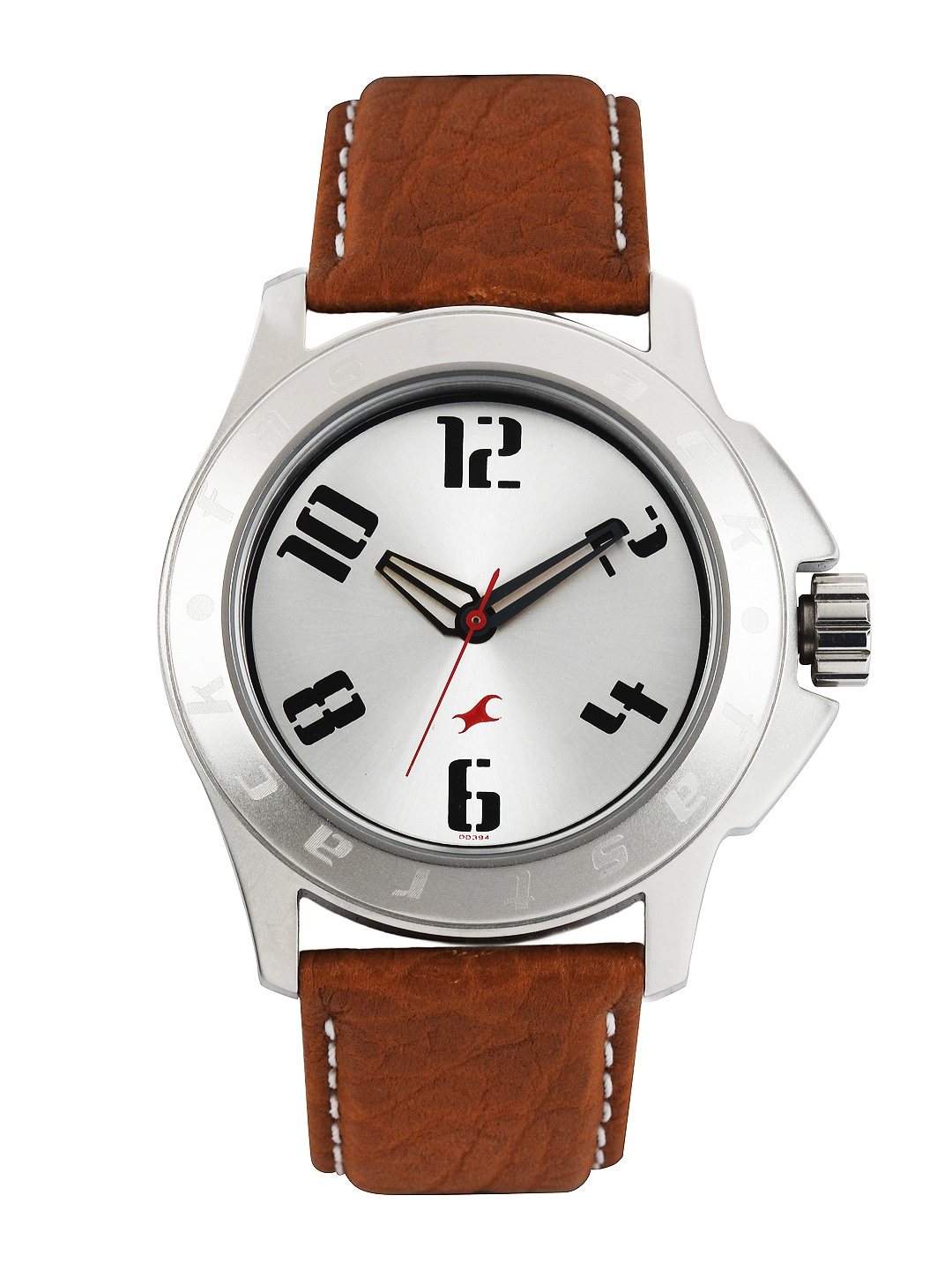 Fastrack Men Steel Toned Dial Watch 3075SL03