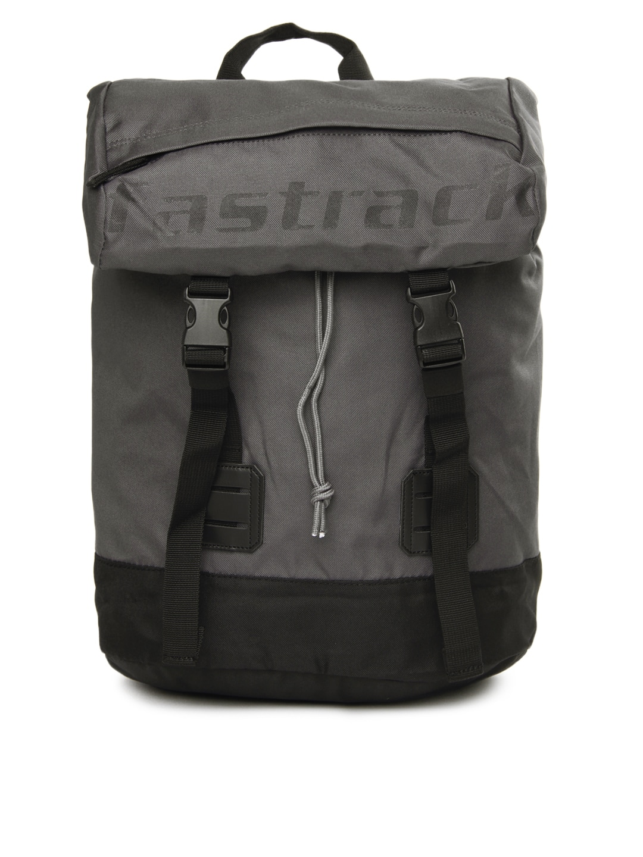 Fastrack Unisex Grey Backpack
