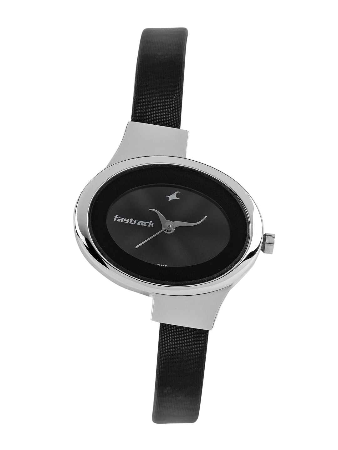 Fastrack Women Charcoal Grey Dial Watch N6015SL02