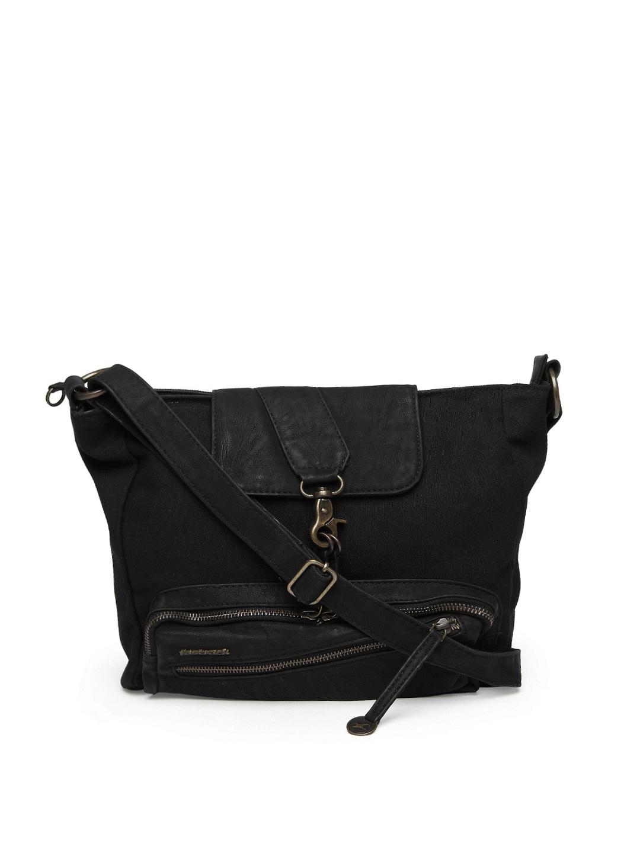 Buy Fastrack Black Sling Bag - 598 - Accessories for Women ...