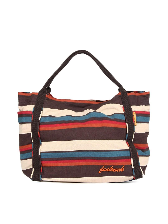 Buy Fastrack Women Multi Colour Tote Bag - 605 ...