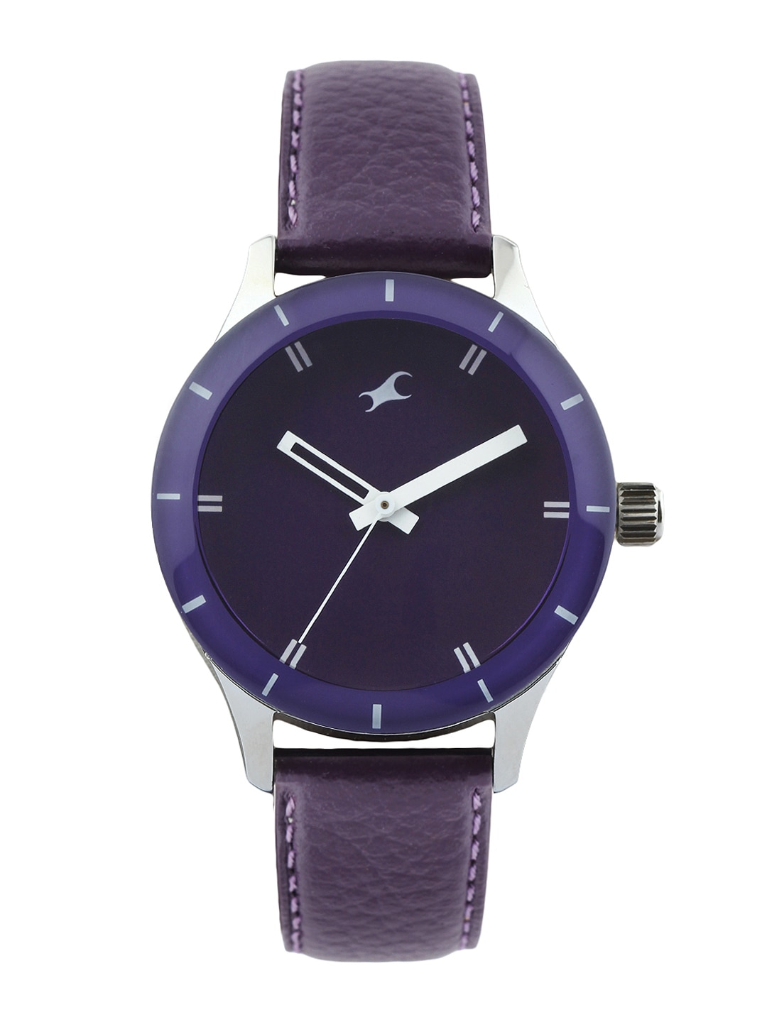 Fastrack Women Purple Dial Watch 6078SL05