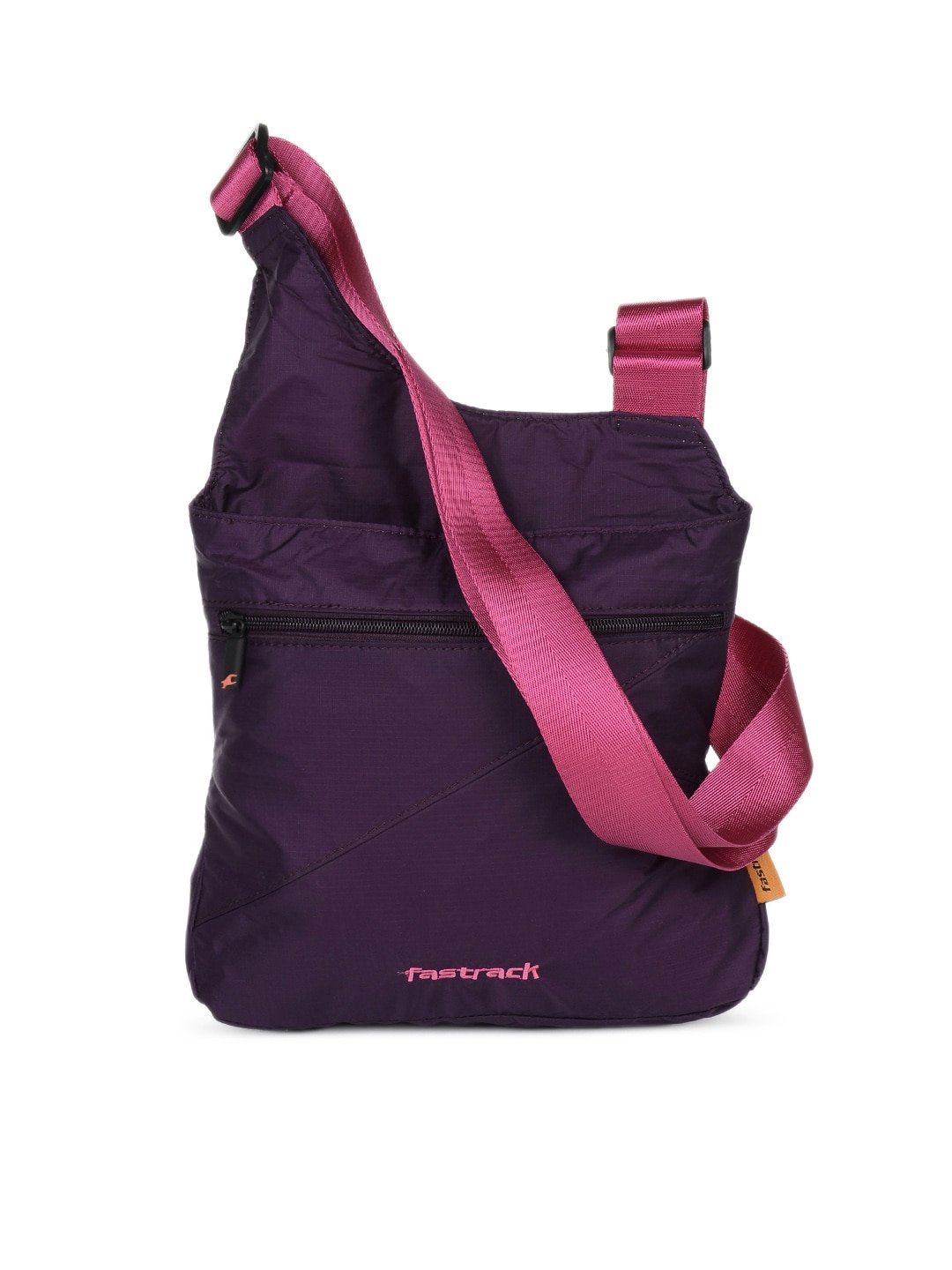 buy fastrack women purple sling bag handbags for women