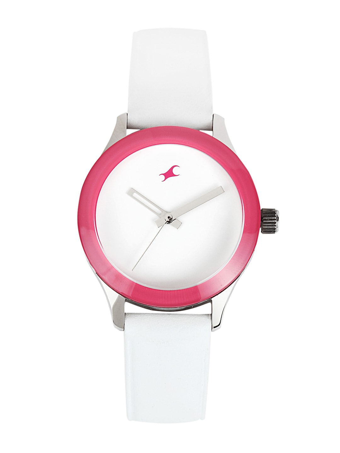 Fastrack Women White Dial Watch 6078SL01