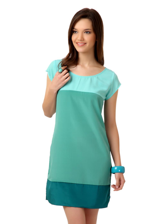 Buy Femella Women Sea Green Dress 379 Apparel For