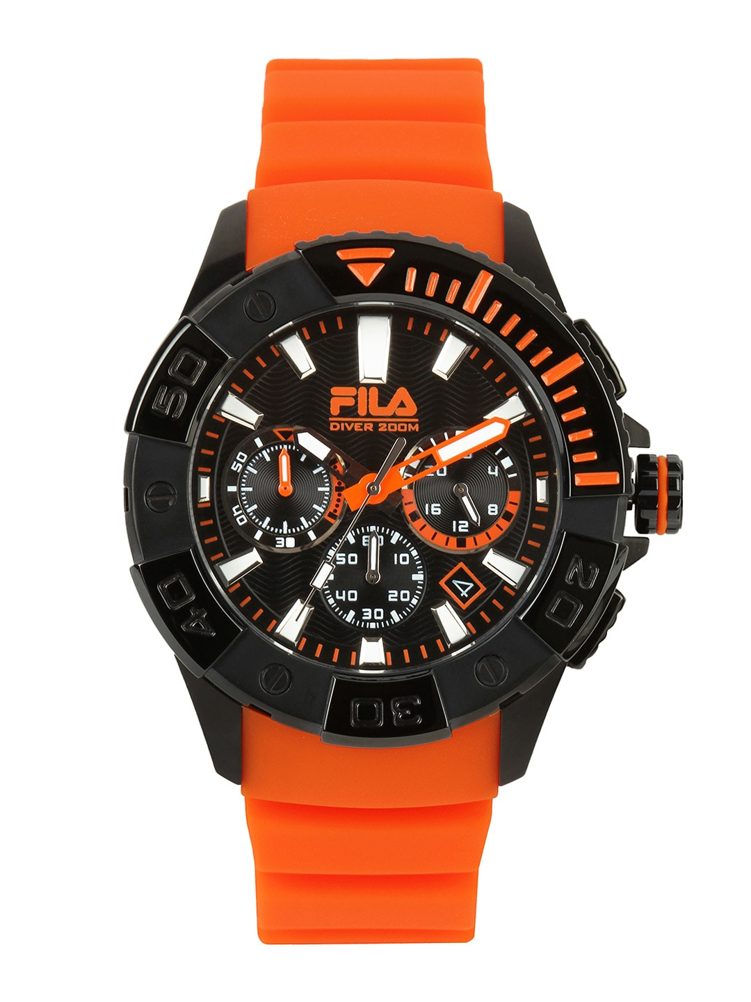 Fila Fila Men Black Dial Watch