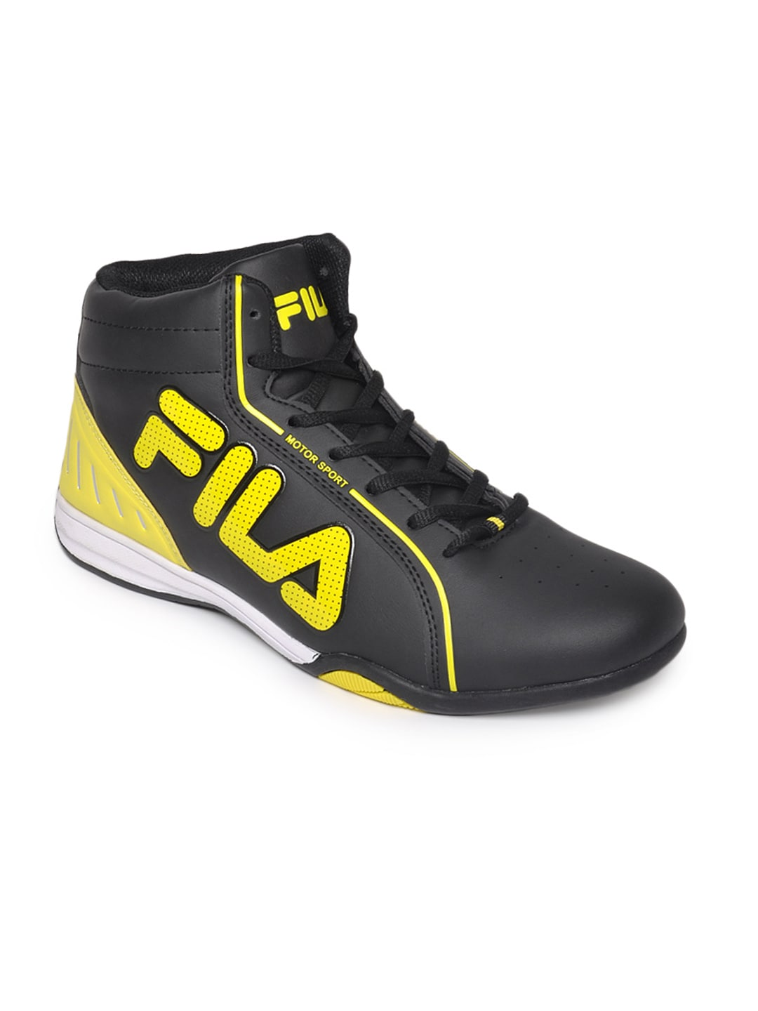 buy fila black isonzo sports shoes sports shoes for